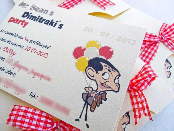 Mr Bean birthday party ideas!