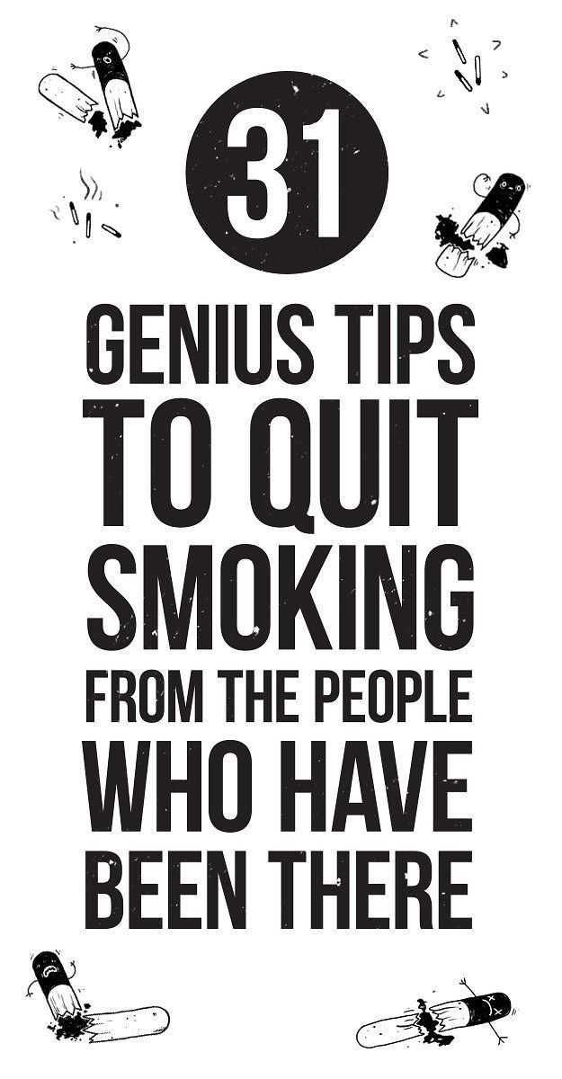 31 Genius Tips To Quit Smoking From The People Who Have Been There