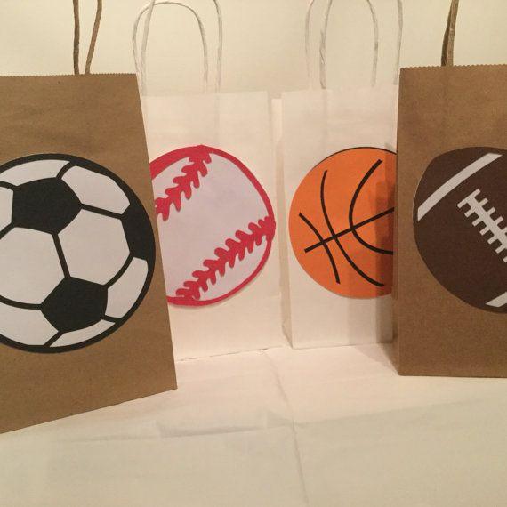 Deportes bolsas favor de tema bolsas favor de baloncesto