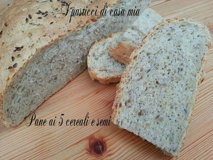 Pane ai 5 cereali e semi