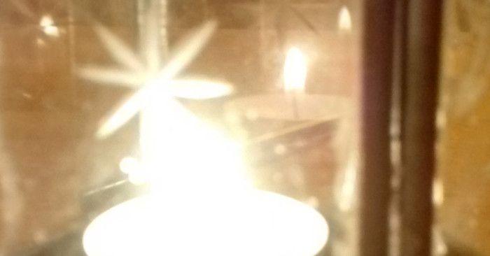 #Lanterna: anche le cose rotte possono far luce. #blogging #Natale #light