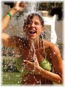 Cold showers provide a gentle form of stress that leads to thermogenesis (internal generation of body heat), turning on the body's adaptive repair systems to strengthen immunity, enhance pain and stress tolerance, and ward off depression, overcome chronic fatigue syndrome, stop hair loss, and stimulate anti-tumor responses.  NB can also decrease breathing/ hyperventilation