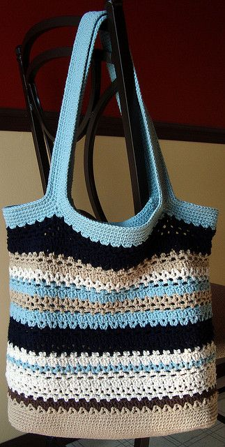 crochet purse Love these colors..