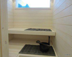 sauna tuli taloon