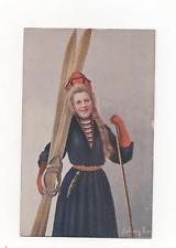 Norway,Norwegian National Dress,.PPC,