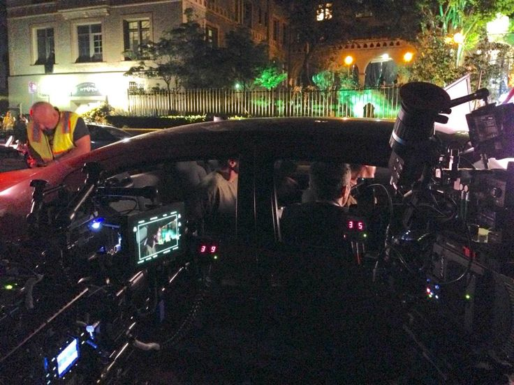 "Andrew Bikichky on Twitter: ""Shooting the boys in the car outside the Halloween party Ep803 #Castle http://t.co/QgxVNlduhh"""