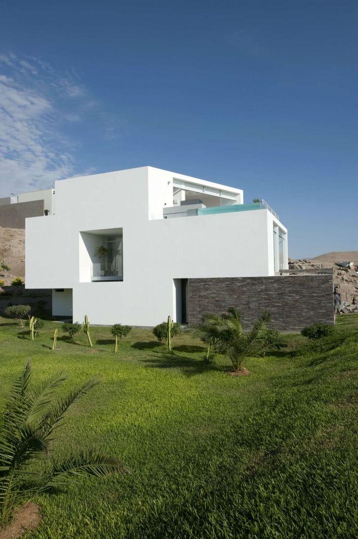 192 best Casas modernas images on Pinterest | Modern houses ...