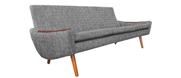 scandinavian Sofa, teak, Mid century