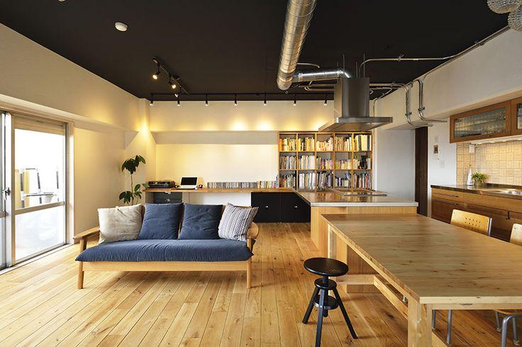 No.0379 プライベートとデザインを大切にする二世帯の空間に(マンション・二世帯) | リフォーム・マンションリフォームならLOHAS studio(ロハススタジオ) presented by OKUTA(オクタ)