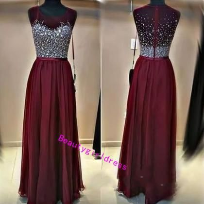 Bg284 New Arrival Beading Prom Dress,Chiffon Prom Dress,Women Formal Dress,Evening Dress,Evening Gown