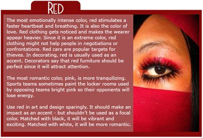17 best images about red personality on pinterest color for Pink color psychology