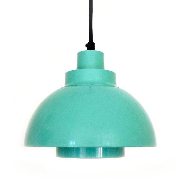 MINISOL pendant by K Kewo  1960s  Nordisk Solar Compagni