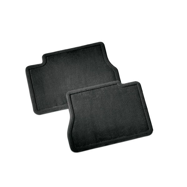 2016 #Silverado 1500 Floor Mats, Ebony Rear Carpet Replacements: These Carpet Replacement Floor Mats for the front of your vehicle duplicate your original production floor mats exactly.