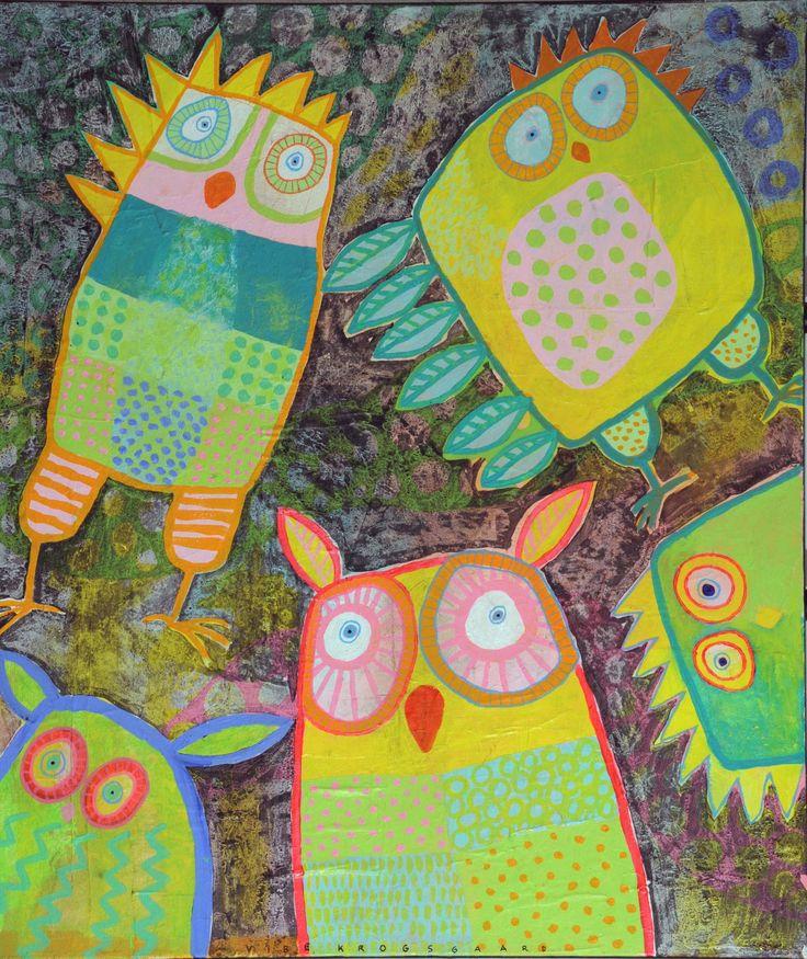 Spøjse fugle af Vibe Krogsgaard