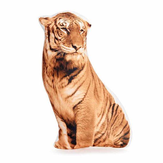 Tiger Plushie Pillow Tiger Plushie Tiger Cushion Throw