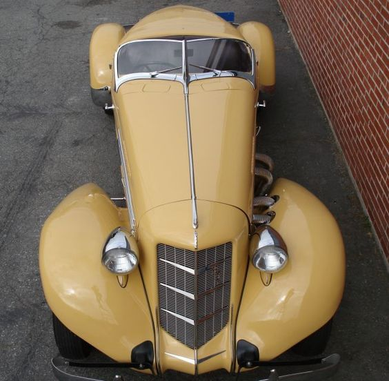 1935 Auburn 851 Supercharged Speedster. the most gorgeous cars of the Art Deco era…