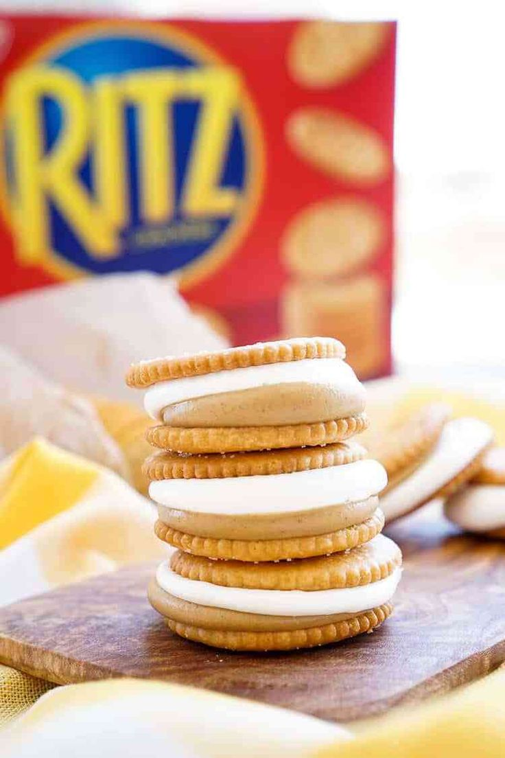 These Fluffernutter RITZwiches are a fun mix of tw…