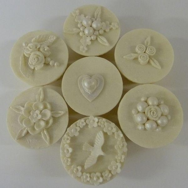 Puro Soap Wedding Cupcake soaps