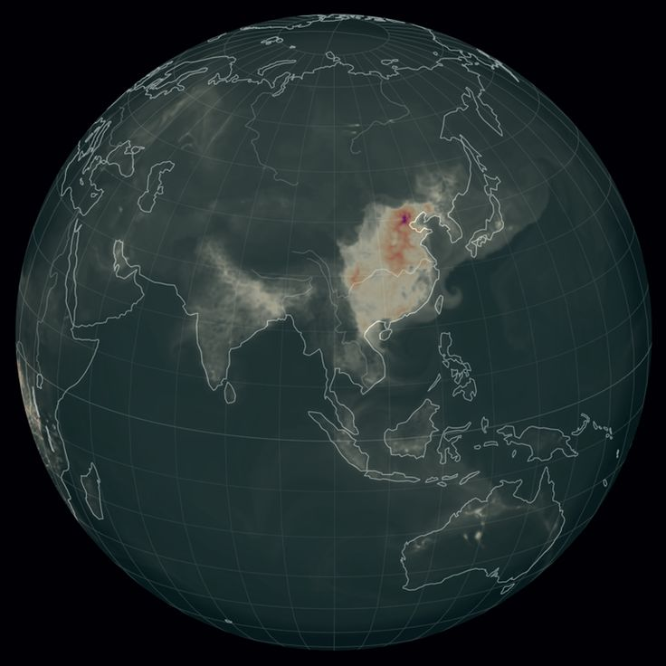 Air pollution in Asia The 1090 best