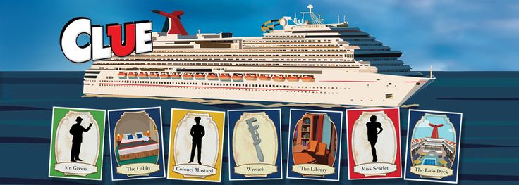 CLUE: The Murder Mystery | Play Onboard | Carnival Cruise Line