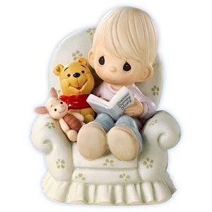 Disney Precious Moments Figurine - Everything's Better With Friends