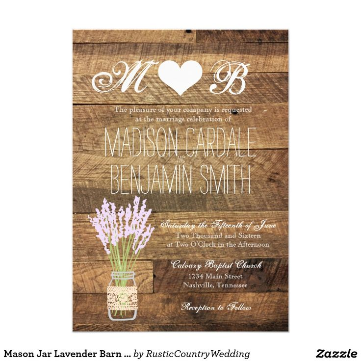 Country Style Weding Invitations 027 - Country Style Weding Invitations