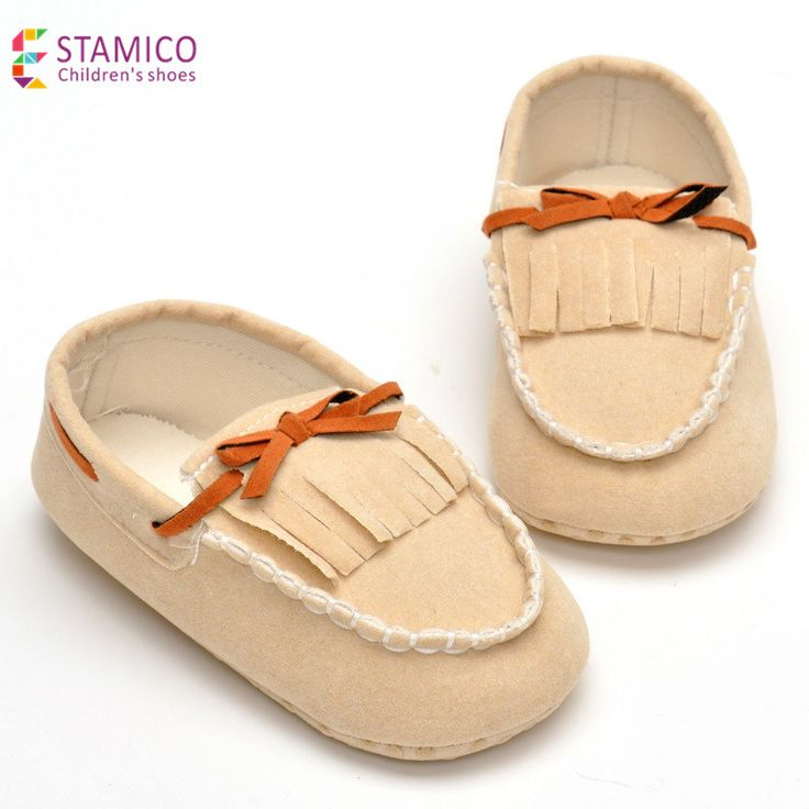 Baby Girl Moccasins Tassel Girls Baby Shoes Flock Fringe First Walkers Soft Sole Non-Slip Foot Wear Stylish Toddler Girls Shoes