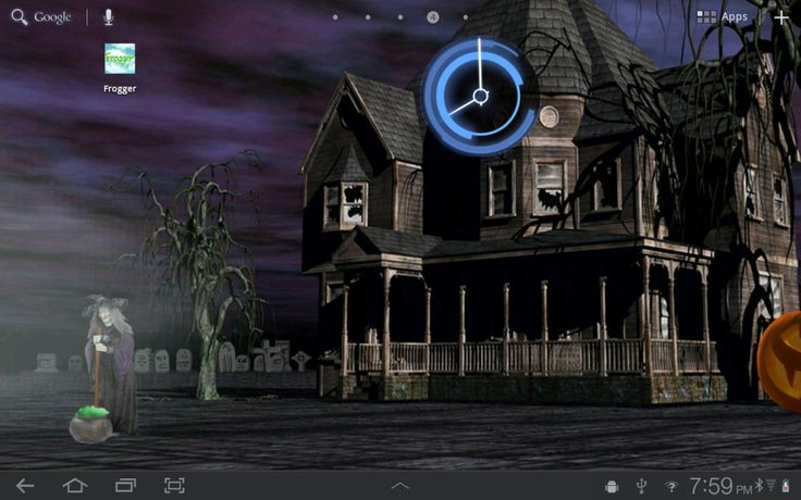 Halloween Live Wallpaper is perfect for anyone that loves Halloween, because of the occupants it seems like there is never a dull moment in and around the eerie haunted mansion. Description from androidpit.com. I searched for this on bing.com/images
