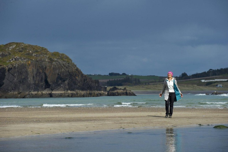 Take a walk on the beautiful beaches in the area - Tragumna is a particular favourite.