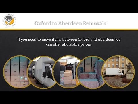 Oxford to Aberdeen Removals