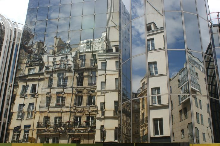 Reflections. Les Halles, Paris.