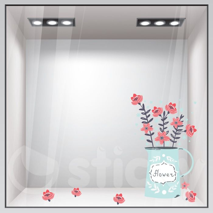 Window Sticker SPRING2 by Sticky!!!