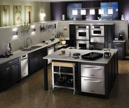 22 best High Tech Kitchens images on Pinterest | Beautiful kitchen ...