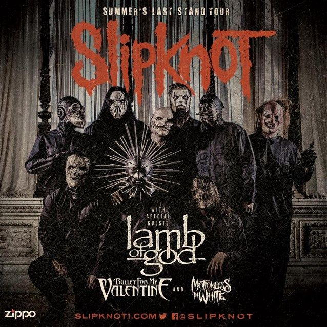 SLIPKNOT To Design Collection Of ZIPPO Lighters For 'Summer's Last Stand' Tour