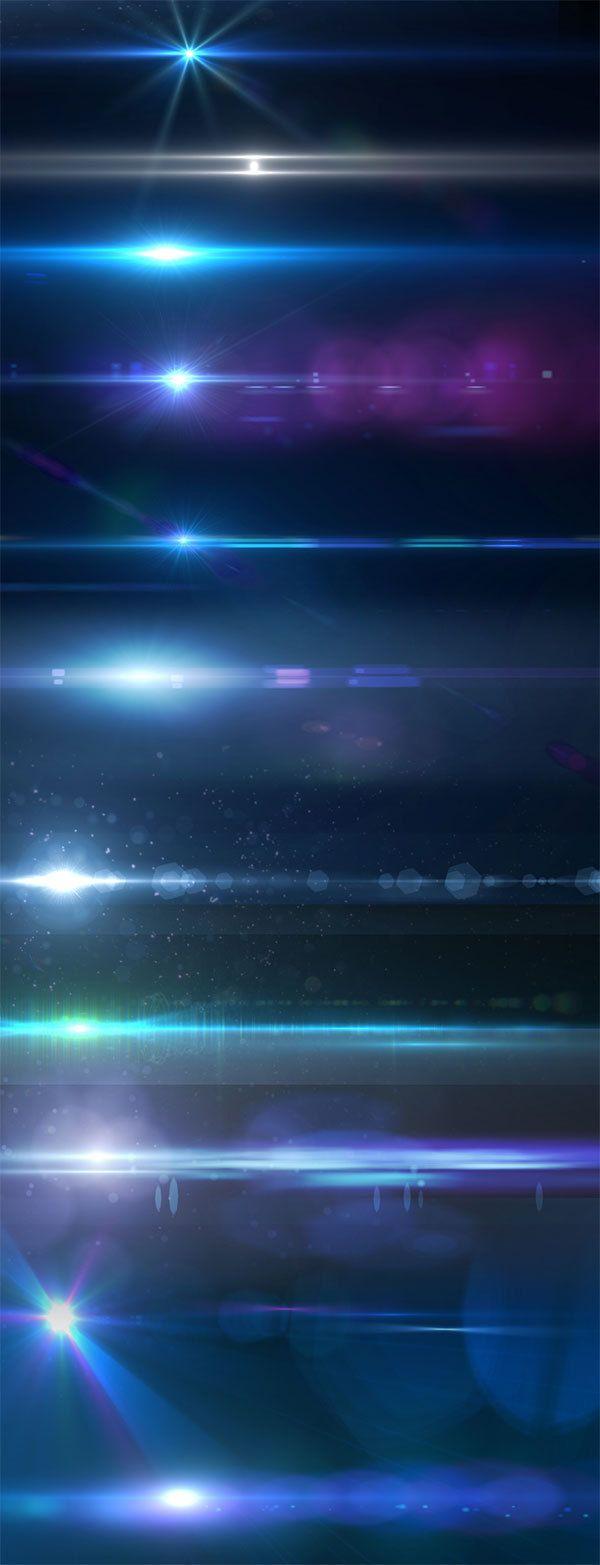 148款镜头光晕素材下载 | PS梦工场