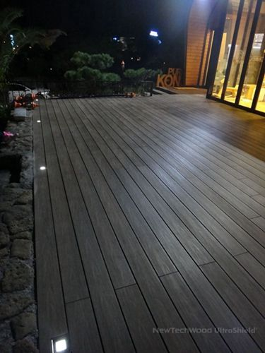 NewTechWood Composite Floor in Korea, please visit www.newtechwood.com for more information.