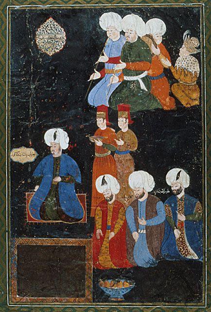 portrait of a turkish pasha 1570