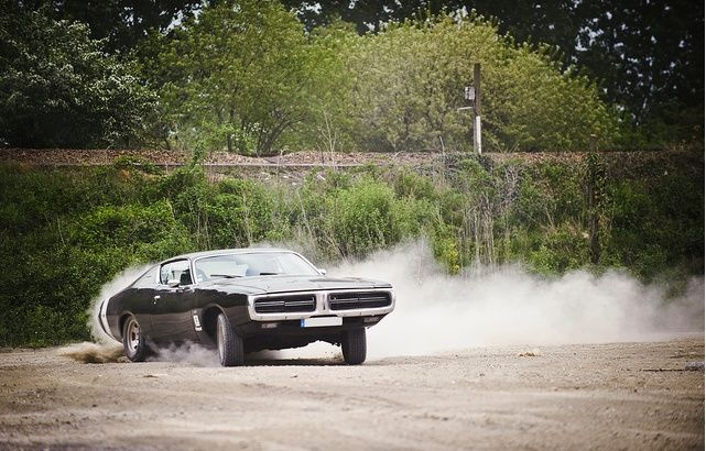 muscle car drifting-YaDb