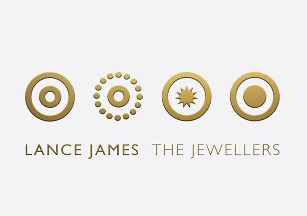 Logo design for Lance James The Jewellers from Circleline Design #logos #design