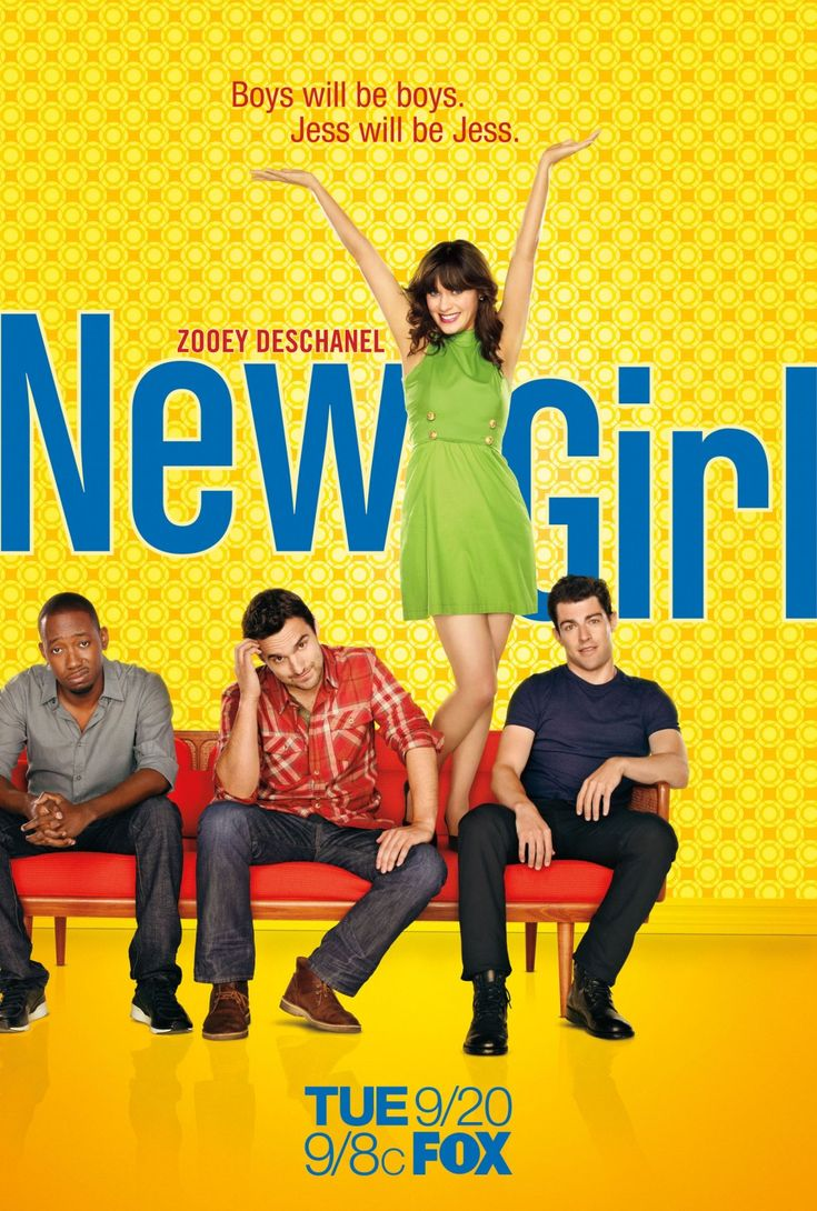 New Girl (TV Show) ~ Was skeptical about this show, but I look forward to it every week!