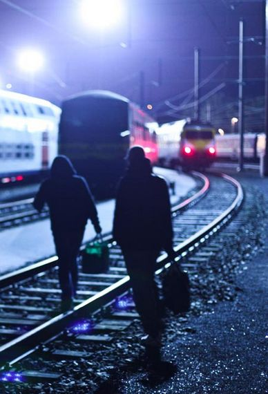 Vandals and Trains