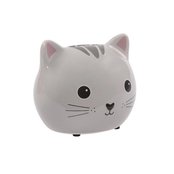 A grey, black and pink stoneware Cat money box- a fun and modern alternative to a traditional piggy bank which may just prove enough to encourage your little one to put some pennies away. We also think this could be used as a thoughtful way of giving a cash gift. This little cutie matches perfectly to other cat items that we stock- perfect for a cute modern theme in the kids room. Browse the rest of our Sass & Belle range here for other items from our Kawaii friends collection (including ...