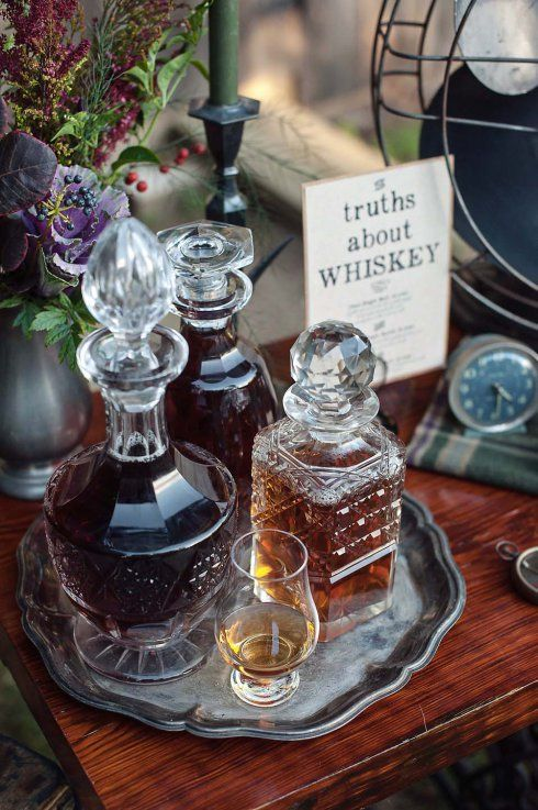 Whiskey Tasting Bar | HK Photography at Beech Tree Cottages, Madison, CT