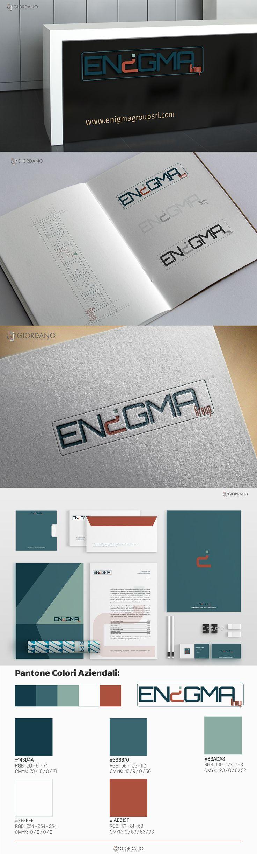 - Progettazione in corso per Enigma srl - Brescia ... Logo + studio del brand + Sito Web. - Work in progress for Enigma Group srl -Brescia IT ... Logo Design + Brand Design + Website.  #Branding #LogoDesign #WebDesign #GraphicDesign #Typography #MobileFriendly #UserExperience #WebDeveloper #ResponsiveDesign #Printing #SitOfTheDay #CorporateIdentity