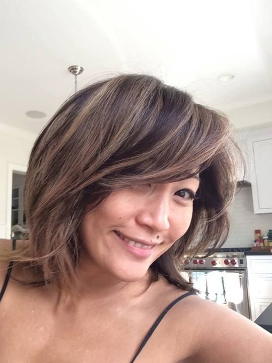 Carrie Ann Inaba Loves Her New Quot Blonde Ish Quot Hair Color