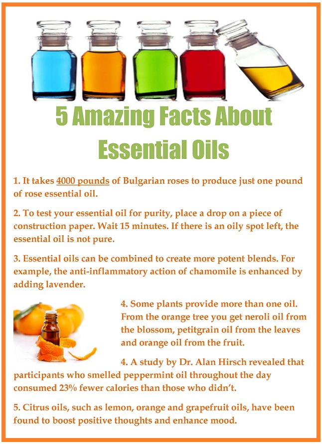 5 Amazing Facts About Essential Oils