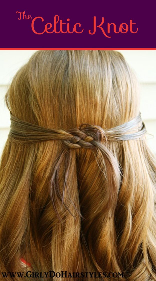The Celtic Knot | 26 DIY Hairstyles Fit For A Princess