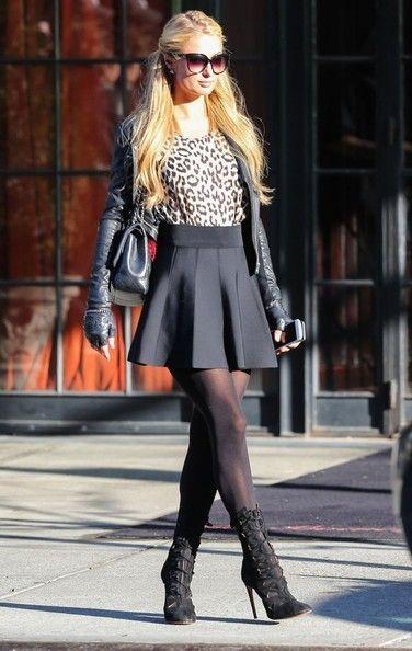 Paris Hilton Photos: Paris Hilton Outside the Bowery Hotel