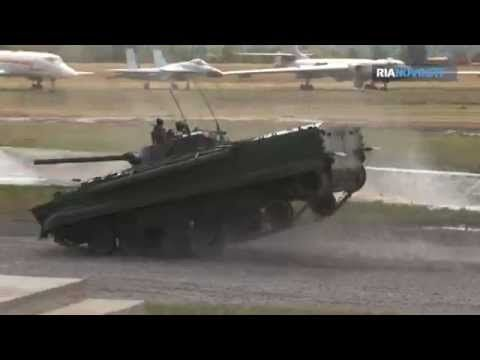 Russian Tanks Perform Dance Ballet - YouTube