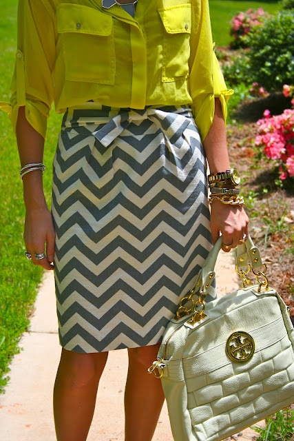 OHH - I SOO want this skirt!!  elle bow room: chevron obsession - guest blogging